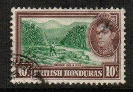 BRITISH HONDURAS  Scott # 120 VF USED - British Honduras (...-1970)