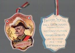 Journée (??) Le Devoir Social De Paul Deschanel: MARECHAL FOCH  (PPP13140) - Documents