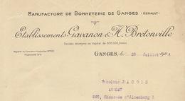 Gavanon Et Bretonville Manufacture De Bonneterie à Ganges Hérault - France