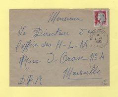 Marseille Gare Avion - 1962 - Marianne Decaris - 1961-....