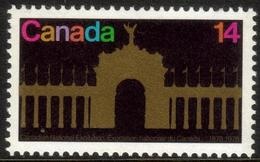 Canada 1978 One The 100th Anniversary Of The National Exhibition Celebrations Architecture Building Stamps MNH SG#922 - Architecture