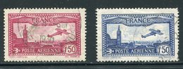 France  C5-C6 (o)  Used  Complete Set - Airmail