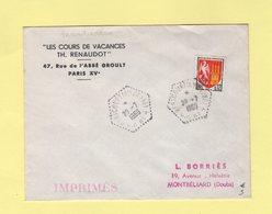 Hericourt - Haute Saone - CP N°4 - 1966 - Marcophilie (Lettres)