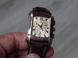 MONTRE CHRONOGRAPHE HOMME FESTINA 16101. ETAT DE MARCHE PILE NEUVE. BRACELET AUTENTIQUE. - Watches: Top-of-the-Line