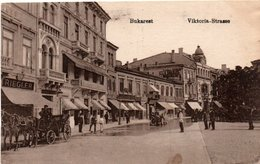 BUCURESTI-BUKAREST-BOULEVARD VIKTORIA-1917 - Roumanie
