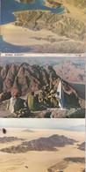 SINAI DESERT, MOUNT MOUNT. 9 POSTCARD. PALPHOT LTD. PHOTOSET SOUVENIR LAMBRANÇA GRUSS AUS. CIRCA 1980.-BLEUP - Israël