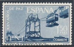 Ifni - España 1965 Mi 240 YT 185 ** Port Installations, Sidi Ifni / Seilbahn Zur Anlegestelle Sidi Ifni - Transportmiddelen