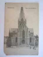 Grammont Geraardsbergen Eglise Saint-Barthélemy Edit S.G.Hoek Beschadigd Coin Abimé - Geraardsbergen