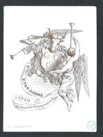 +++ CPA - Carte Porcelaine - Porcelein Kaart - P.Van Damme - 1849 - BODE Van Het Kunstgenootschap   // - Cartes Porcelaine
