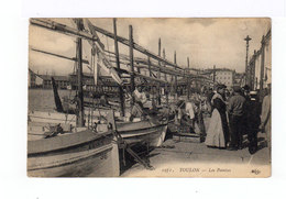 Toulon. Les Pointus. Avec Pêcheurs, Promeneurs. (2942) - Pêche