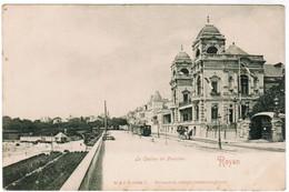 CPA Royan, Le Casino De Foncillon, Tram, Tramway (pk44875) - Royan