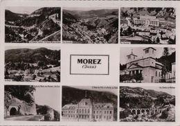 3760A  MOREZ  ??????????1959 TIMBRE ECRITE - Morez