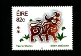 IRELAND/EIRE - 2009  YEAR OF THE OX   MINT NH - 1949-... Repubblica D'Irlanda