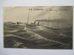 "S.S. "" DUMBEA ""      TTB - Steamers"