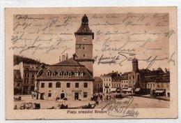 BRASOV-PIATA ORASULUI-1929 - Romania