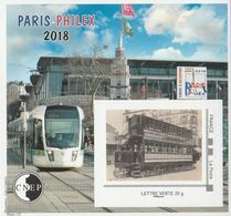 CNEP N°  78 De 2018 - Bloc Autoadhésif - Salon, Paris-Philex - CNEP