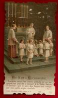 Image Pieuse Holy Card Ciselée Communion Marcel Bouillanne Sainte Bénigne Dijon 26-05-1918 Ed Bouasse Lebel Lecène 5791 - Devotion Images