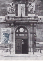 Carte-Maximum FRANCE N° Yvert 1347 (LAKANAL - Ecole Normale Sup) Obl Sp Rue Des Ecoles (Ed Serg) RR - 1960-69
