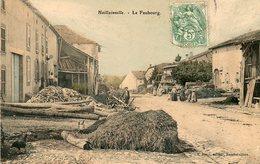 CPA - HAILLAINVILLE (88) - Aspect Du Faubourg En 1907 - Autres Communes