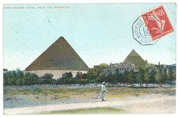 Cpa Egypte - Mena - House Hotel Near The Pyramids - Egypte