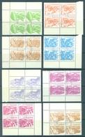 NICARAGUA - 1983  - USED/OBLIT. - Yv 1303-1310 -  Lot 17026 EN BLOC DE 4 - Nicaragua