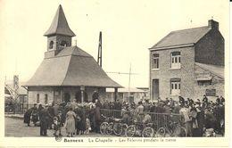 Sprimont - Banneux - CPA - Les Pélerins Pendant La Messe - Sprimont