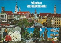 Viktualienmarkt.  Mönchen - Munich  Germany.  # 07658 - Markets