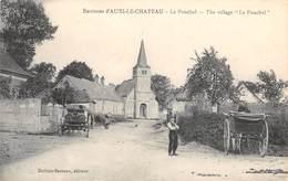 CPA 62 - LE PONCHEL - The Village - Auxi Le Chateau
