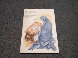 "PORTUGAL CHRISTMAS STATIONERY POSTCARD ""PRESEPE"" Nº211 1958/59 UNUSED - Entiers Postaux"