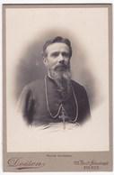 Ancienne Photo Portrait Homme D'Eglise Religieux (Doisen, Paris) - Anonieme Personen
