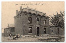 Ghoy Chateau De Mr Plaitin - Declèves , Bougemestre - Lessines
