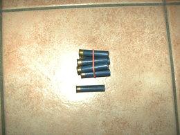 Lot De 10 Anciennes Cartouches Carton De 12mm Vides, Marque Gevelot - Armes Neutralisées