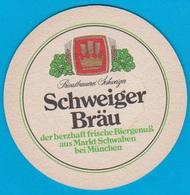 Privatbrauerei Schweiger Markt Schwaben ( Bd 1801 ) - Bierdeckel