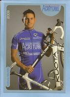 Nantes (44) Anthony Ravard 2 Scans Agritubel Loudun (86) 2009 - Cycling