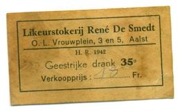 Etiket Likeurstokerij René De Smedt Te Aalst - Etiquettes