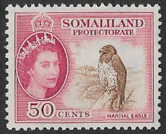 Somaliland Protectorate SG143 1953 Definitive 50c Mounted Mint [37/30913/2D] - Somaliland (Protectorate ...-1959)