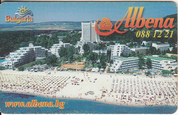 BULGARIA(chip) - Albena 2, Mobika Telecard 100 Units, Tirage 50000, 05/03, Used - Advertising