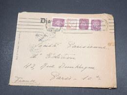 PORTUGAL - Enveloppe De Lisbonne Pour La France En 1943 Avec Contrôle Postal Allemand - L 18665 - 1910-... République