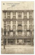 CPA LA PANNE, HOTEL RESTAURANT CONTINENTAL - OSBORNE, DE PANNE, FLANDRE OCCIDENTALE, BELGIQUE - De Panne