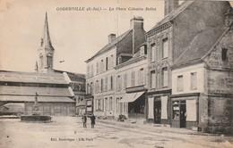 76 Goderville. La Place Celestin Bellet - France