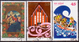 NEW ZEALAND 1982 SG #1274-76 Compl.set Used Christmas - New Zealand