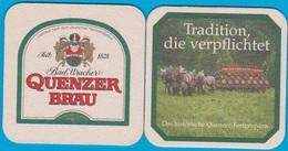 Quenzer Bräu Bad Urach ( Bd 1802 ) - Bierdeckel