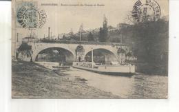 Angouleme, Bateau Transport Des Canons De Ruelle - Angouleme