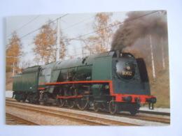 België Belgique Locomotive à Vapeur Type 1 Stoomlocomotief Steam Locomotive 1935 Consortium Des Constructeurs - Eisenbahnen