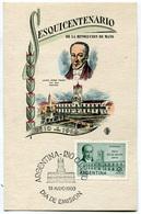 FDC ESQUICENTENARIO DE LA REVOLUCION DE MAYO JUAN JOSE PASO 1810 1960 DIA DE EMISION 28/05/1960 ARGENTINA - FDC