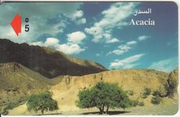 OMAN(GPT) - Acacia, CN : 43OMNT/B(normal 0), Tirage 50000, 07/99, Used - Oman