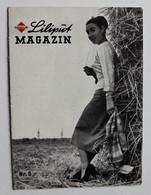 Mini Magazine Anglais LILIPUT Magazin Gasolin Années 50 Voiture Mercedes BENZ Zell Am See Autriche Zentral Garage - Books, Magazines, Comics