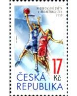 Ref. 254597 * MNH * - CZECH REPUBLIC. 2010. CAMPEONATOS DE BALONCESTO FEMENINO DE LA FIBA - Postzegels