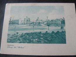 1938 ANCIENT RARE BEAUTIFUL  POSTCARD OF TRIPOLI / ANTICA BELLISSIMA RARA CARTOLINA VIAGGIATA DI TRIPOLI - Libya