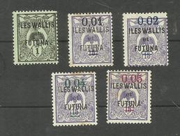 Wallis Et Futuna N°1, 26 à 29 Cote 3.50 Euros - Wallis And Futuna